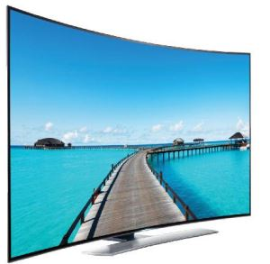 55 Inch Metal Body LED TV 4K